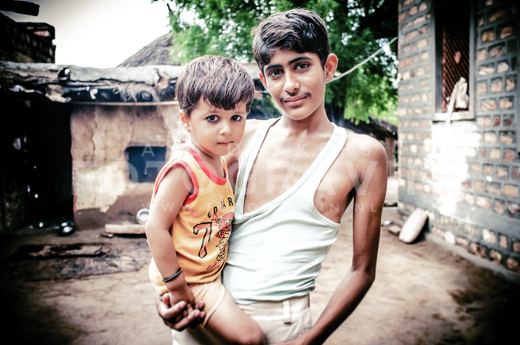 Brothers [near Jodhpur, India]