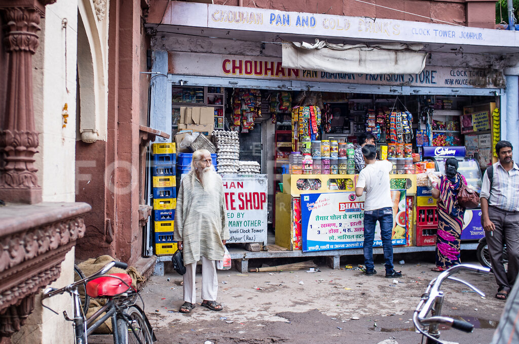White beard [Jodhpur]